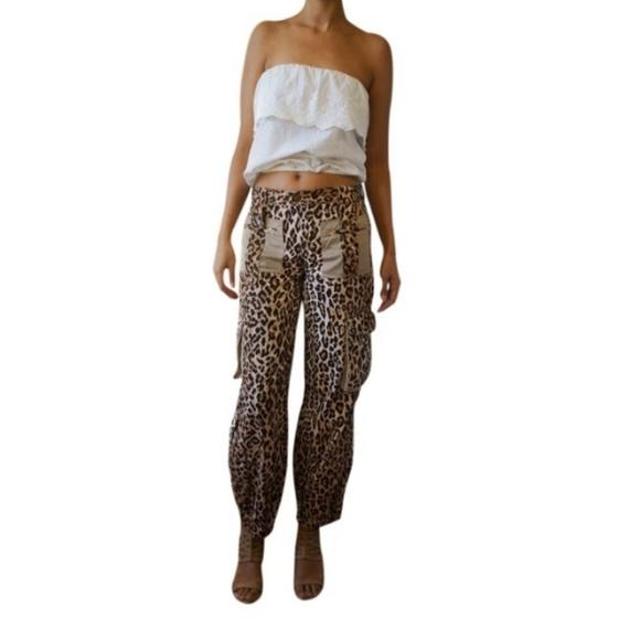 7a498c19c9fa Dolce & Gabbana Pants | Dolce Gabbana Leopard Print Cargo | Poshmark